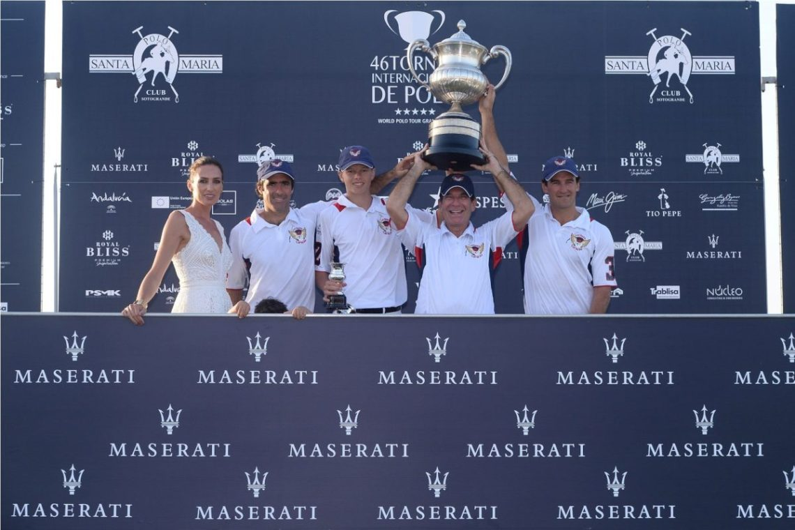 Maserati Polo Tour- tappa Sotogrande:Victor Vargas;Nieves Alvarez with the team Lechuza Caracas