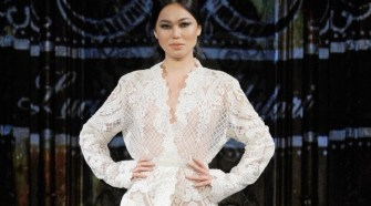 Luciana Adulari at New York Fashion Week NYFW Art Hearts Fashion SS/18