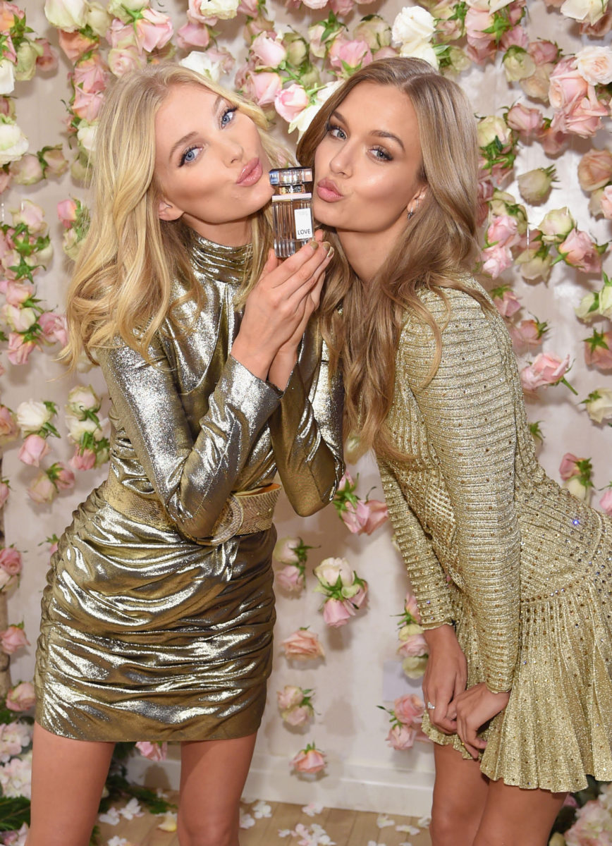 Victoria's Secret Angels Josephine Skriver and Elsa Hosk (2)