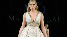 Mac Duggal at New York Fashion Week NYFW Art Hearts Fashion SS18