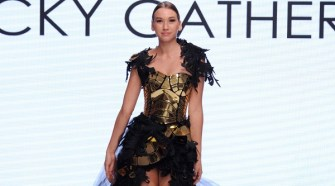 Rocky Gathercole at Los Angeles Fashion Week SS18 Art Hearts Fashion