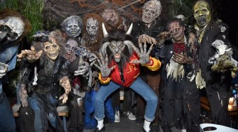 Heidi Klum's 18th Annual Halloween Party - Inside