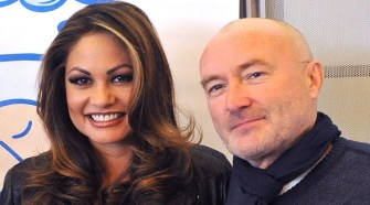 PHIL COLLINS AND ORIANNE COLLINS