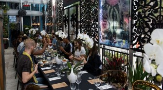 Avant Gallery celebrated its 10 year silver anniversary over 'The First Breakfast'