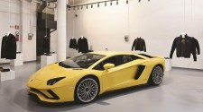 Collezione Automobili Lamborghini at Milan Fashion Week 2018