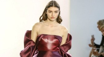 Bibhu Mohapatra Fall Winter 2018 Womenswear at New York Fashion Week