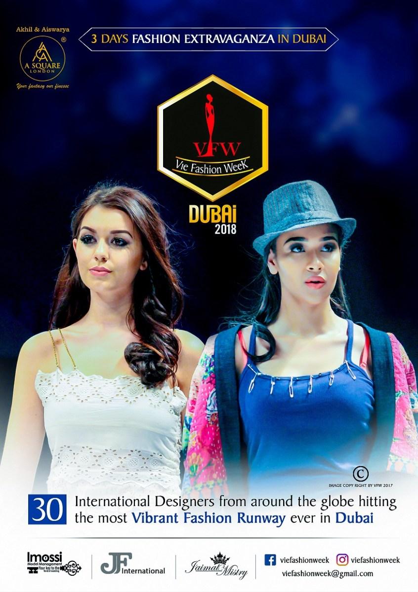 Vie Fashion Week Coming Soon in Dubai