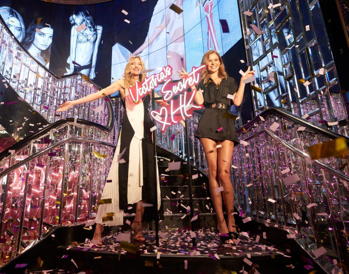 Martha Hunt, Josephine Skriver celebrate Victoria's Secret Hong Kong store opening
