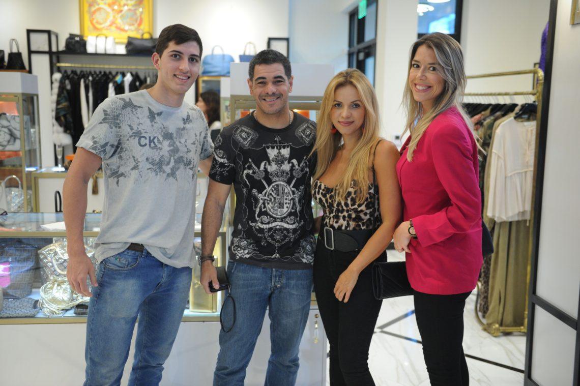 Marcelo Campbell, Waldrey Junior, Veronica Caires, Bruna Maccari