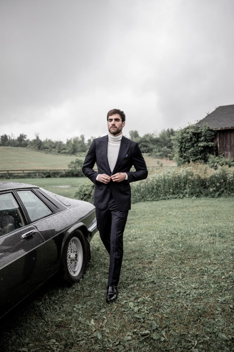 Indochino Hemsworth Midnight Suit