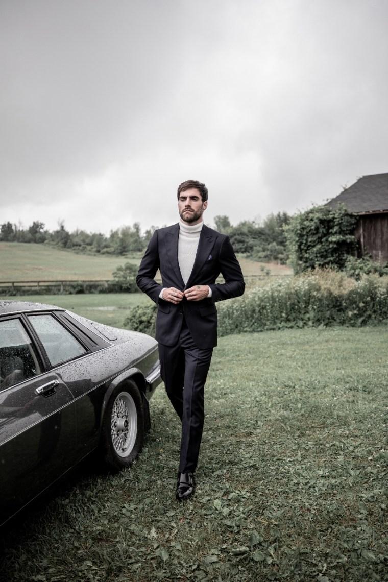 Indochino Hemsworth Midnight Suit