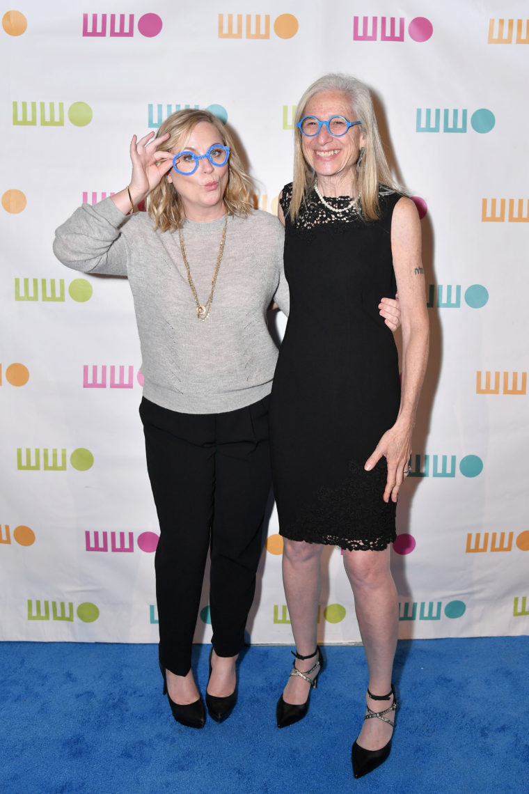 Amy Poehler and Dr Jane Aronson attend the Worldwide Orphans 14th Annual Gala