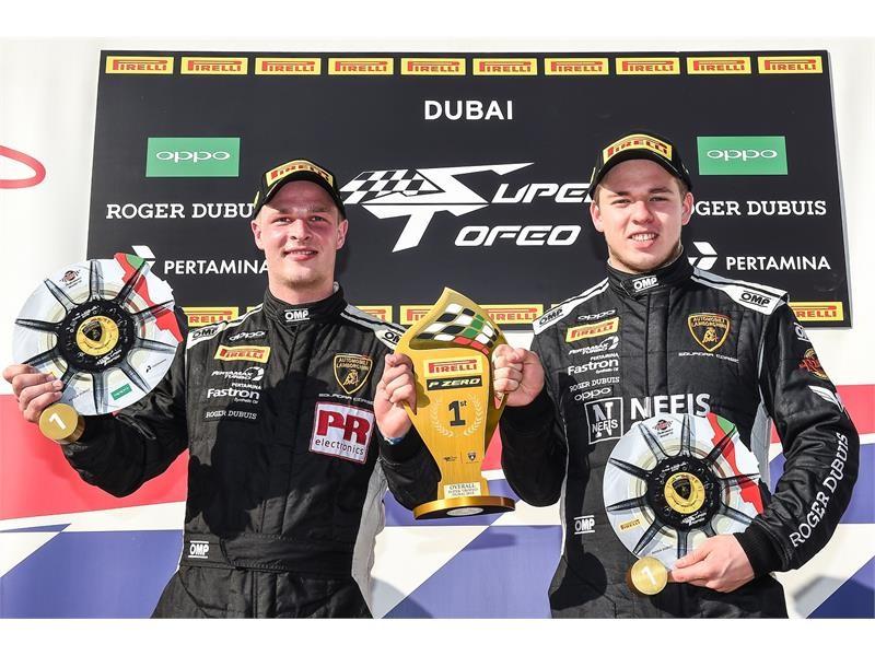 Lamborghini Super Trofeo Middle East Dubai 2