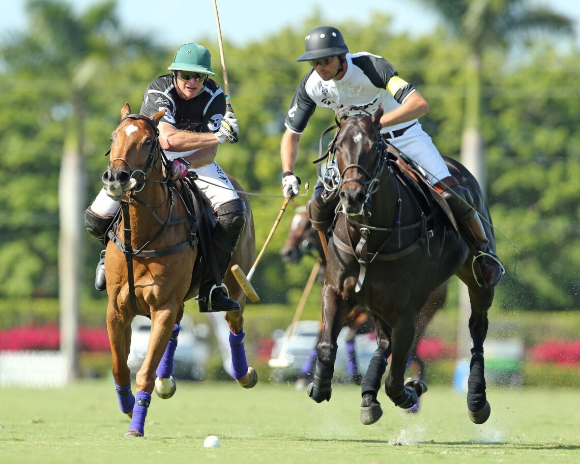 On the U.S. Polo Assn. Field 1, Cessna Polo Team defeated Iconica 10-8. ©Alex Pacheco