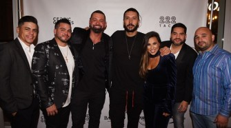 Cedric Gervais hosts The Spot Barbershop's Edgewater Grand Opening