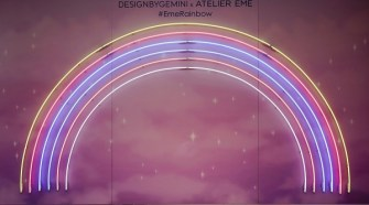 A POETIC RAINBOW MAGIC FOR ATELIER EME AT MILANO DESIGN WEEK 2019