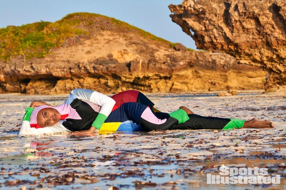 Swimsuit 2019: KenyaHalima AdenKenya1/18/2019X162383 TK3Credit: Yu Tsai