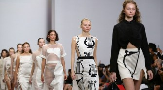 KARLA SPETIC at Mercedes-Benz Fashion Week Australia