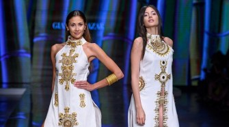 GIANNINA AZAR RUNWAY Show at Miami Fashion Week