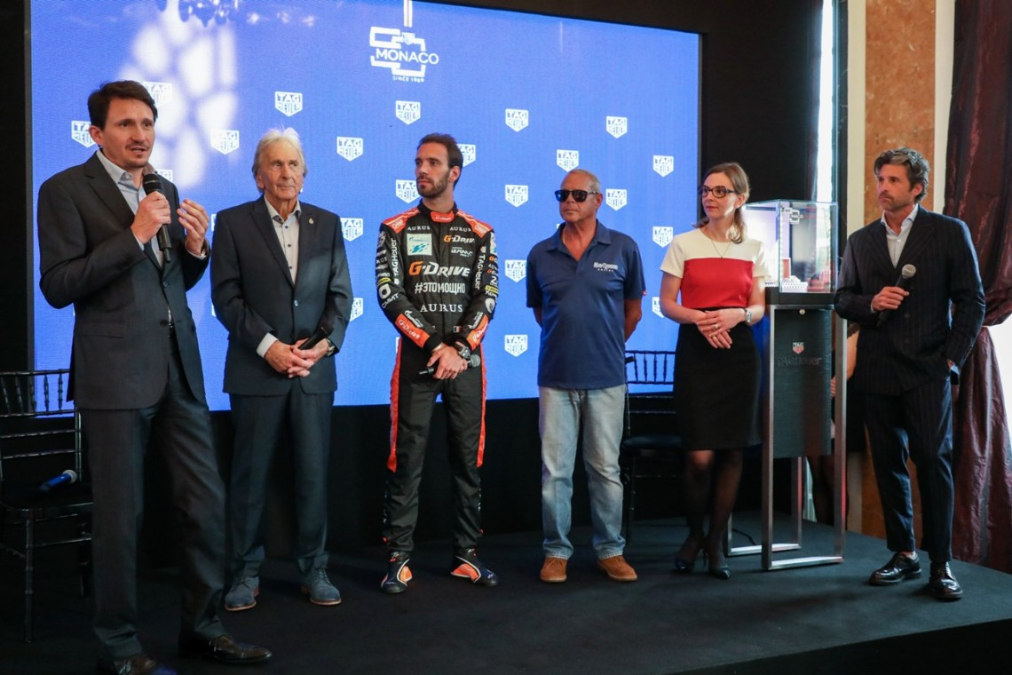 Tag Heuer Unveils New Monaco Limited Edition At Exclusive Event In Le Mans