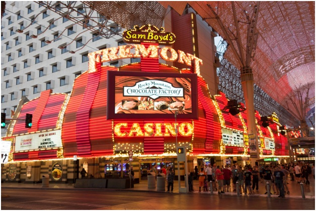 The legendary Fremont Hotel & Casino