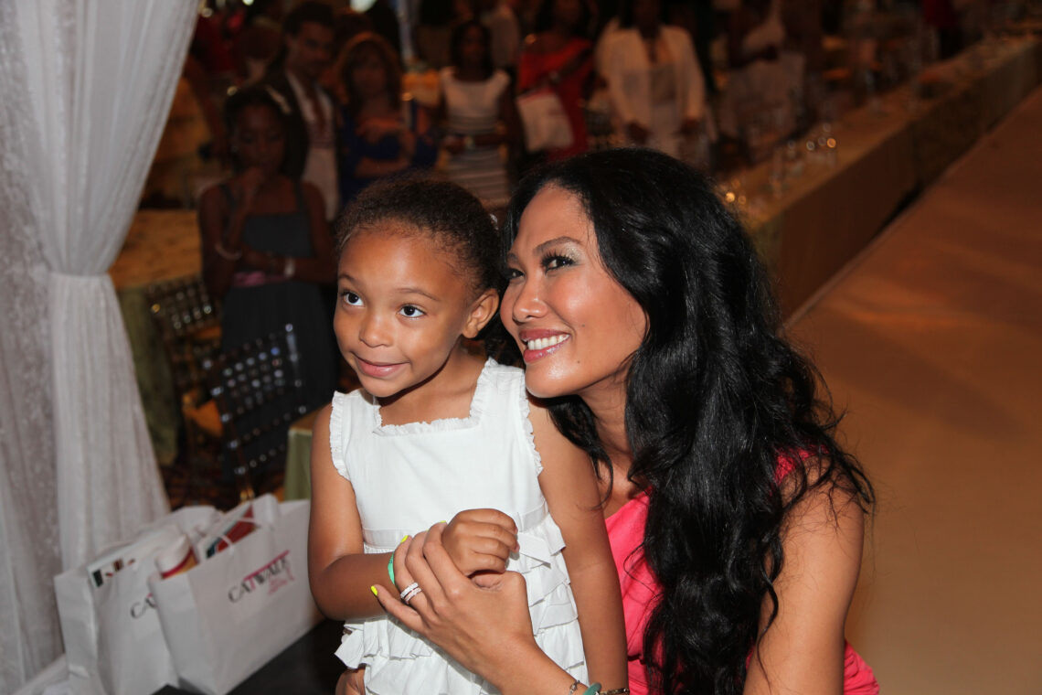Kimora Lee Simmons at Catwalk for Charity event
