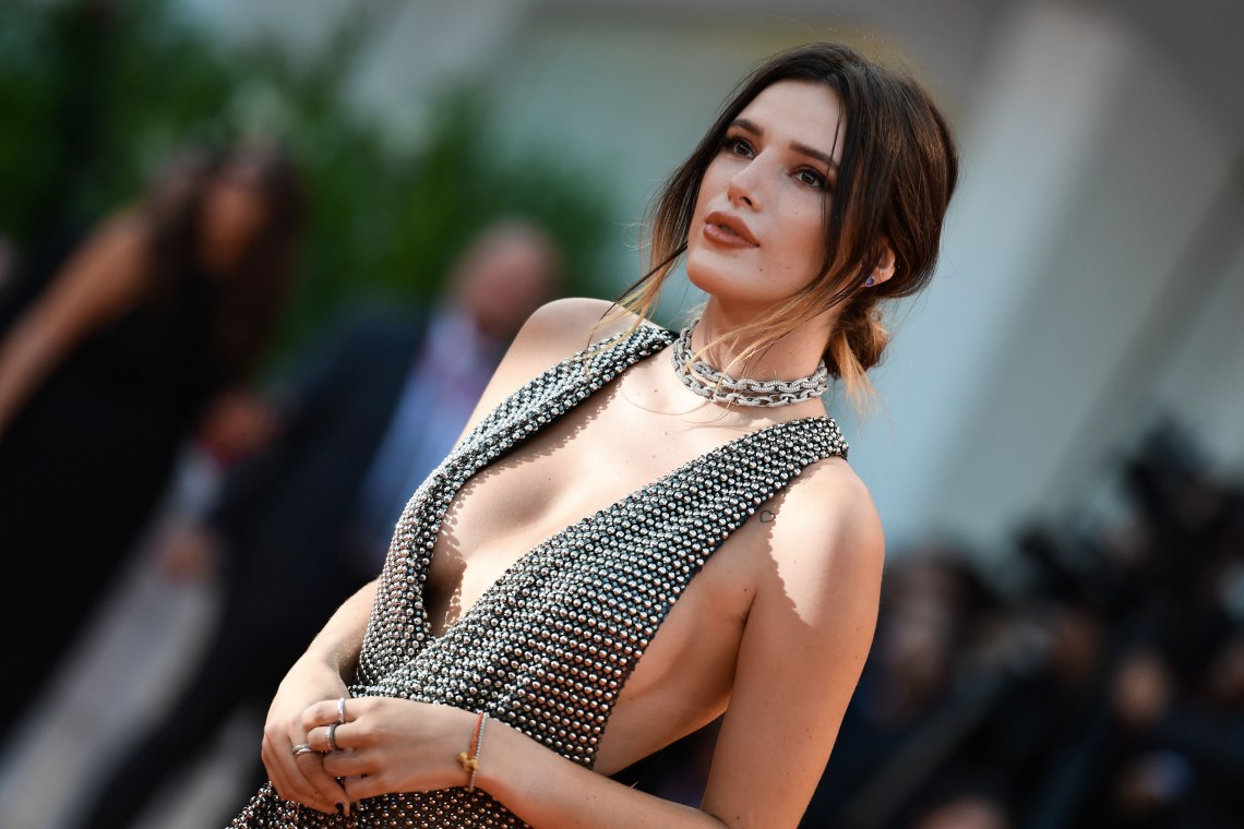 """Bella Thorne dazzled in Avakian Fine Jewellery at the 76th Venice Film Festival for the screening of """"Joker"""""""