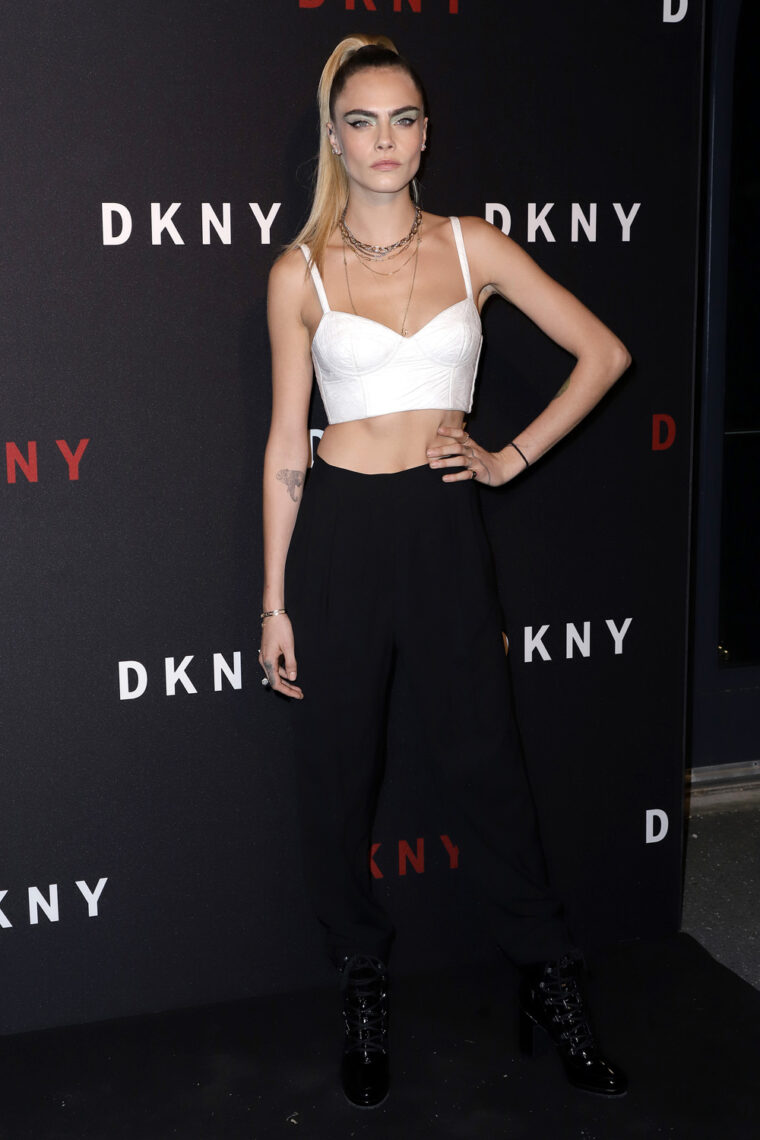 DKNY Turns 30 With Special Live Performances By Halsey And The Martinez Brothers - Red Carpet