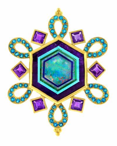 Intarsia Snowflake