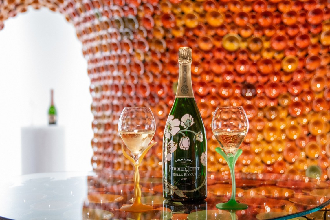 Perrier Jouet Booth Miami_06, by Andrea Mancuso, Design Miami 2019