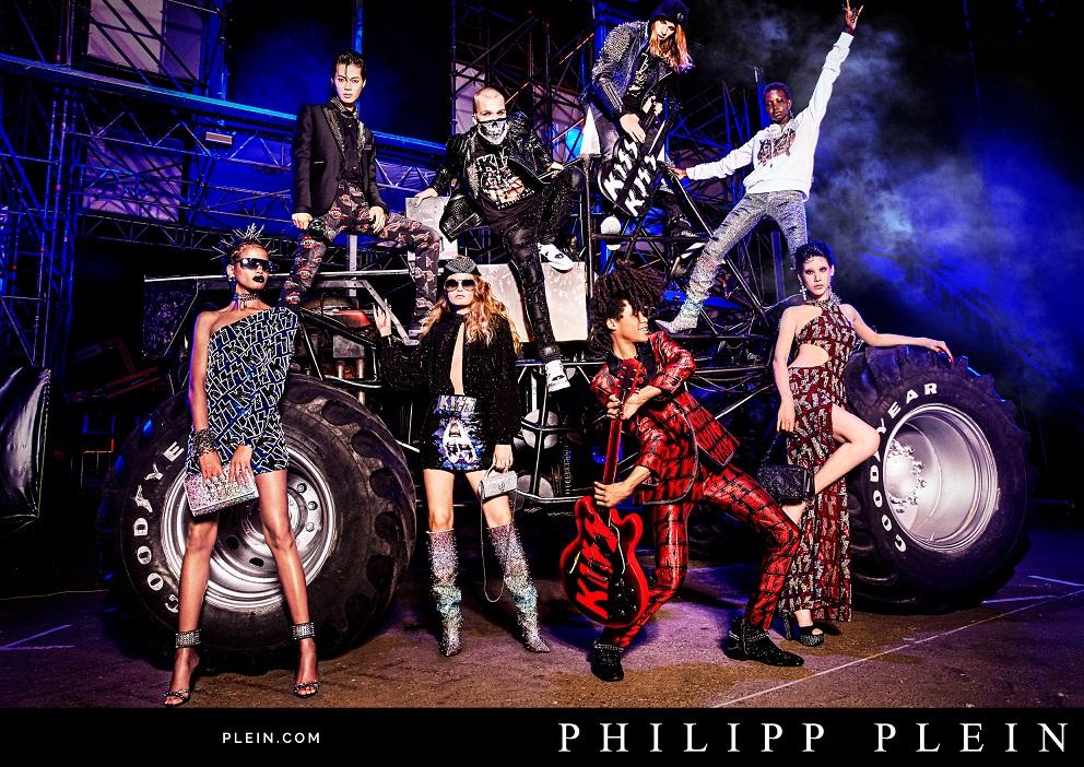 PHILIPP PLEIN Spring-Summer 2020 ADV Campaign by Ellen Von Unwerth