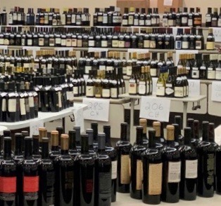 1,000 wines waiting to be judged