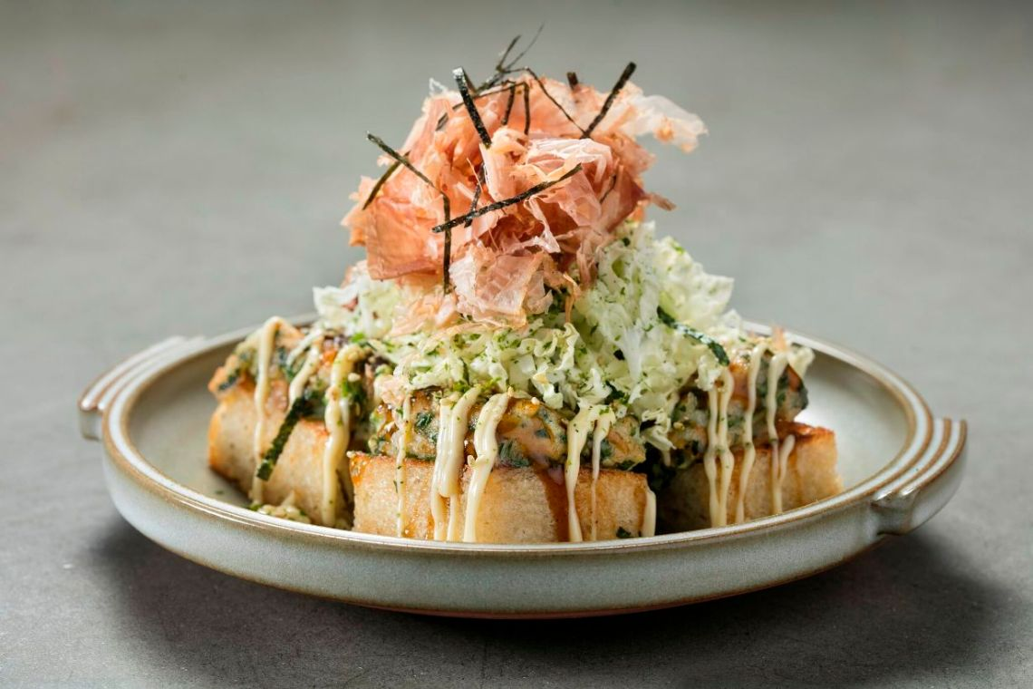 Shrimp Toast Okonomiyaki_Photo Credit, Melissa Hom Photography