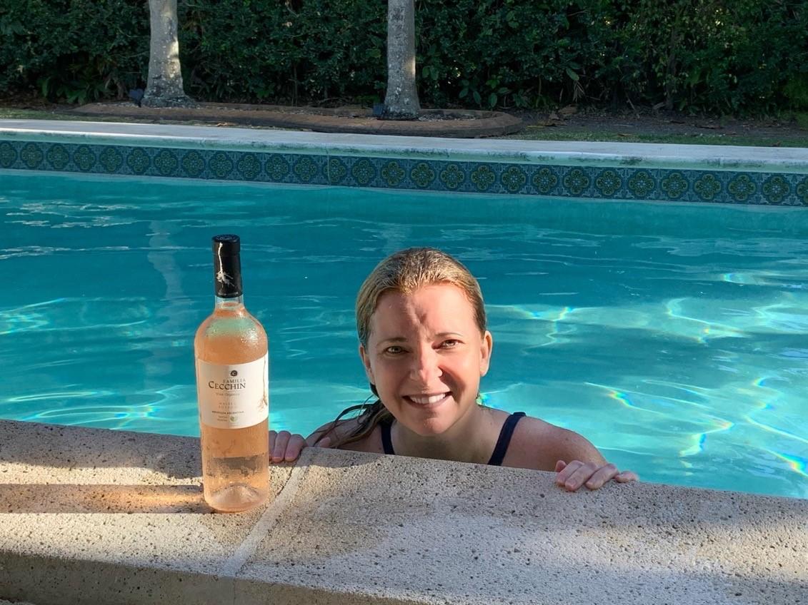 Sunny Fraser Pool