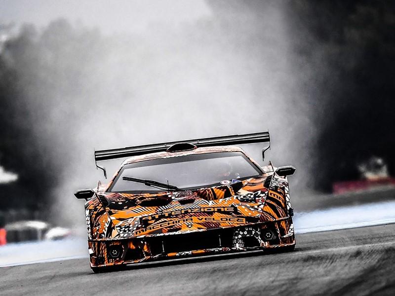 Lamborghini SCV12 Test 4