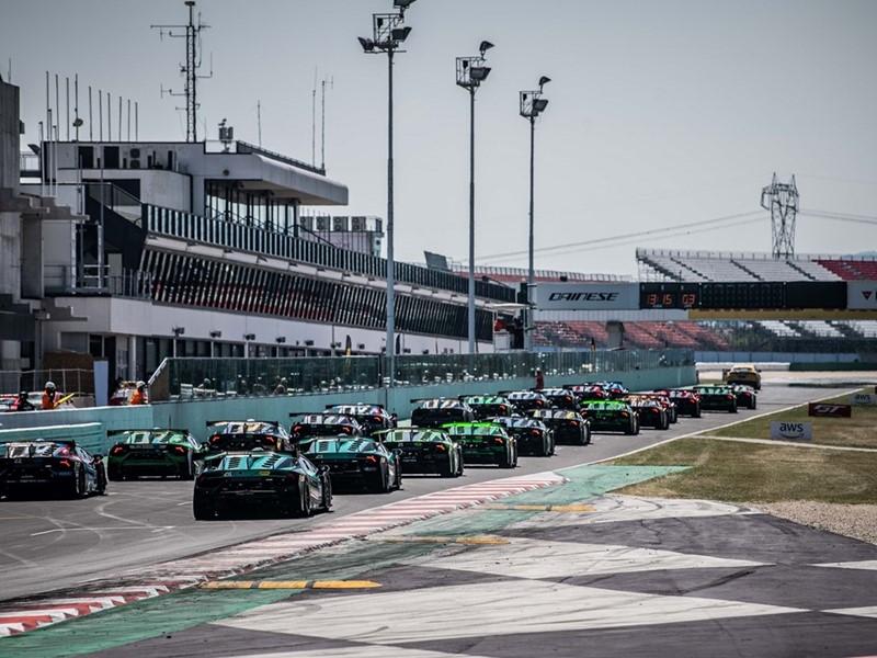 Lamborghini Super Trofeo Europe-Misano Starting Grid