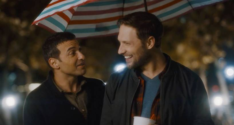 Mo (past OUTshine Award recipient Haaz Sleiman), a practicing Muslim living in West Hollywood, is learning to navigate life post-heartbreak with hunky, all-American Kal (Michael Cassidy) in Breaking Fast, a romantic comedy available exclusively for streaming during the 22nd edition of the OUTshine LGBTQ+ Virtual Film Festival.