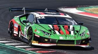 Lamborghini secures one-two finish in penultimate Italian GT Endurance round