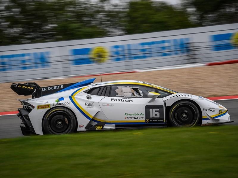 Lamborghini Super Trofeo Europe Basz-Lewandowski