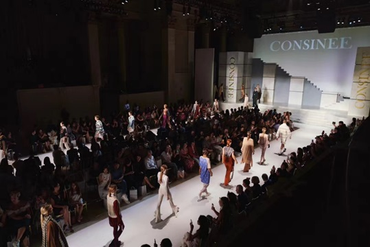 CONSINEE GROUP'S 2019 RUNWAY PRESENTATION IN NEW YORK CITY