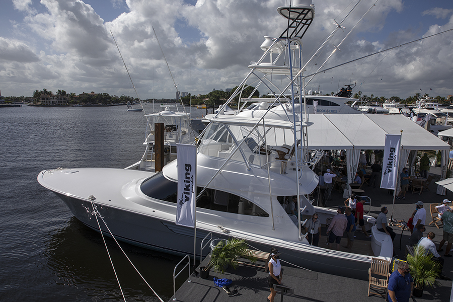 BEST OF SHOW AT THE FORT LAUDERDALE INTERNATIONAL BOAT SHOW BY NBC SPORTS GROUP
