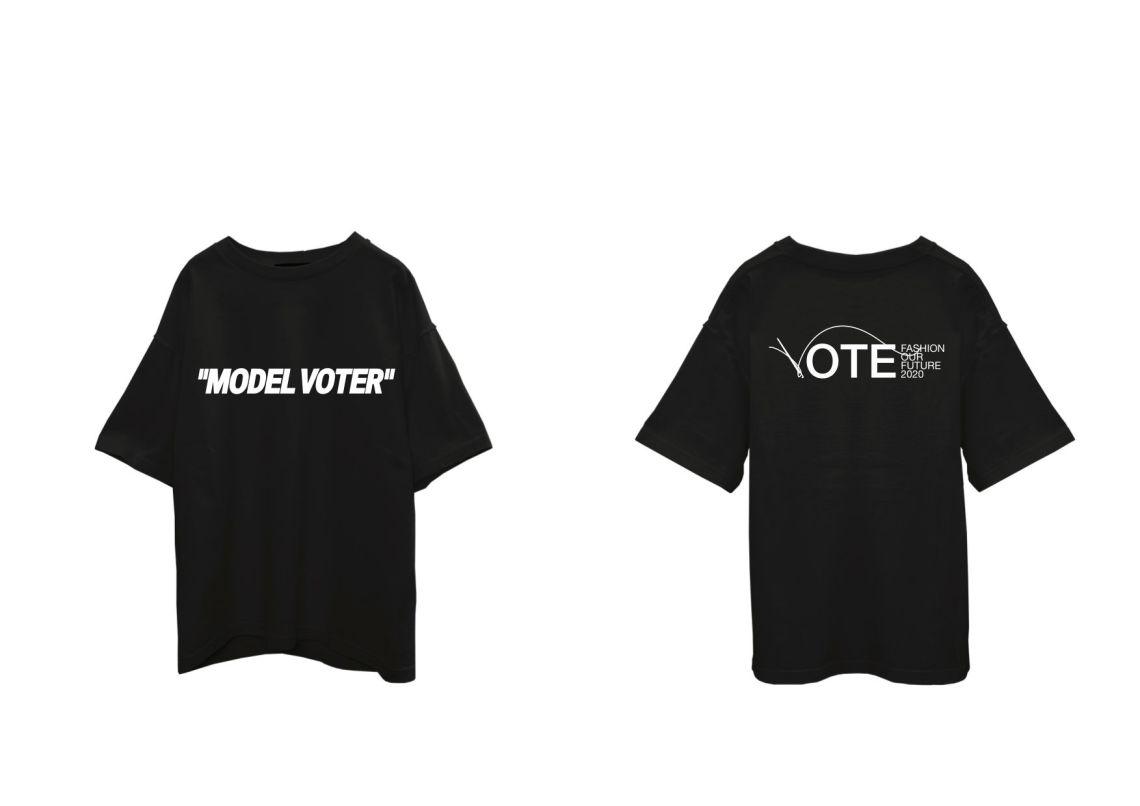 Off-White_Model Voter T-Shirt