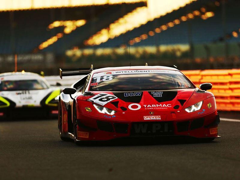 Lamborghini Huracan GT3 - n18 WPI Motorsport - British GT Silverstone