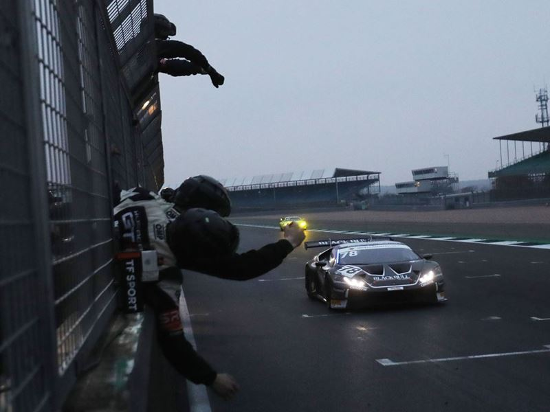 Lamborghini Huracan GT3 - n78 Barwell Motorsport - British GT Silverstone