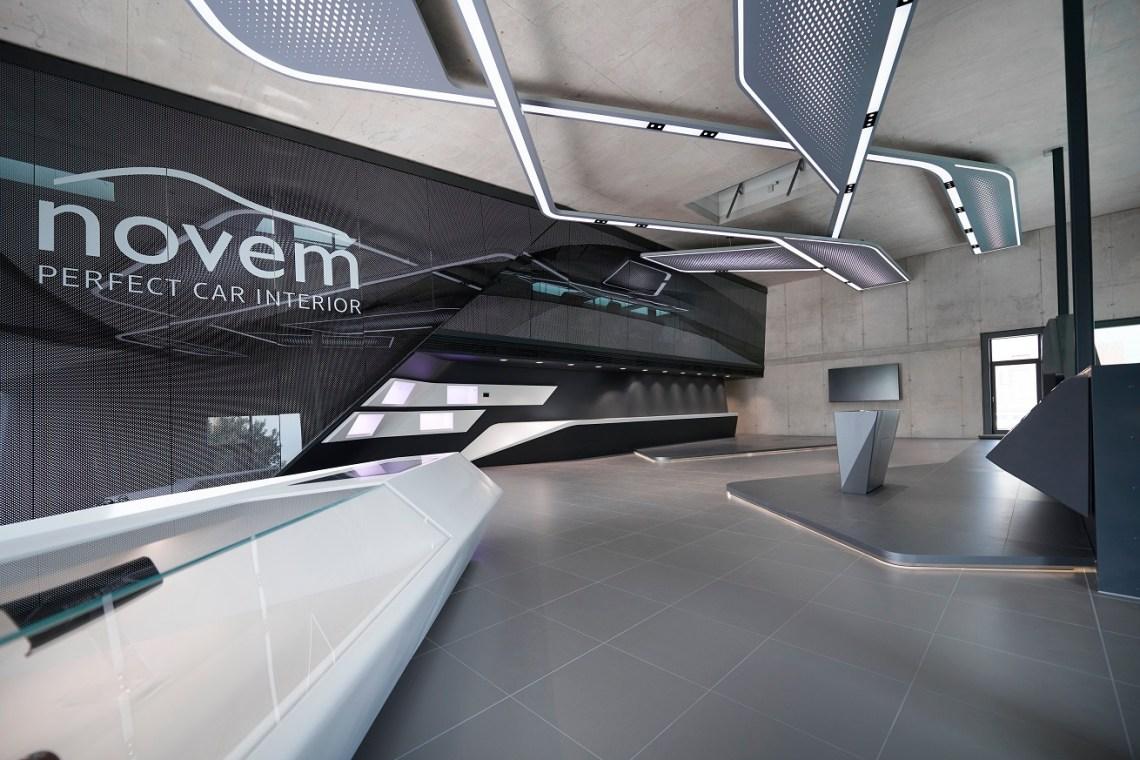 Pininfarina Architecture designs a seamlessly responsive environment for Novem Interior World in Vorbach