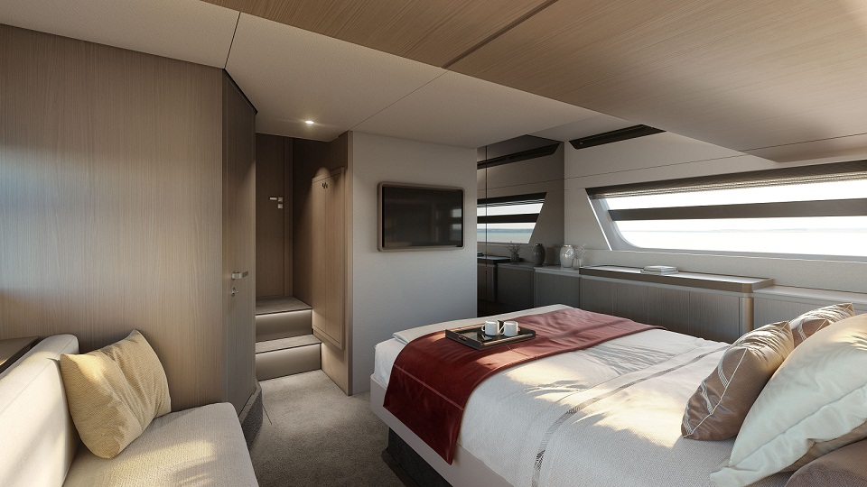 Azimut 53 Owner Suite