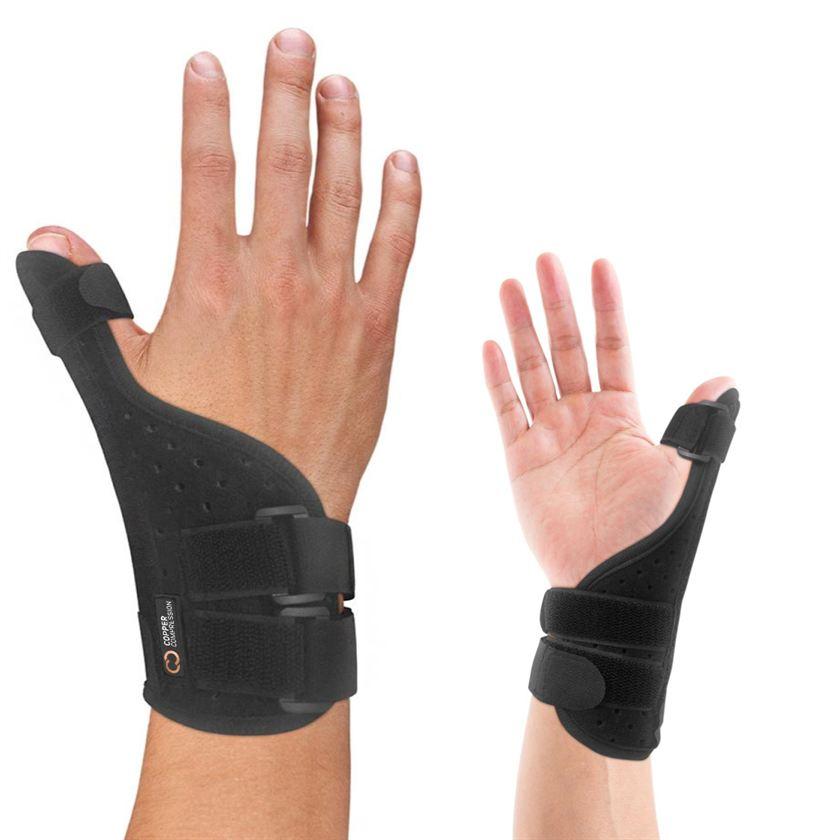 Long Thumb Brace_Copper Compression