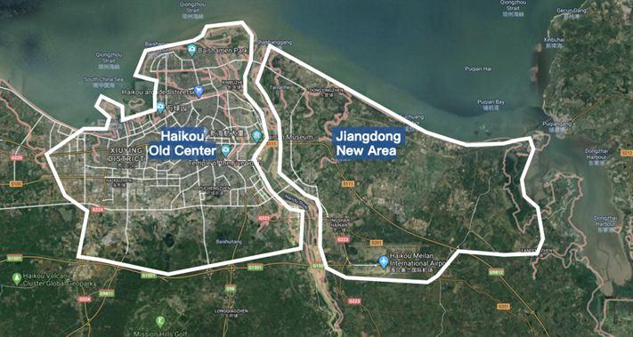 Haikou City Map