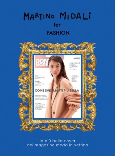 Martino Midali for Fashion: Donna Moderna Cover