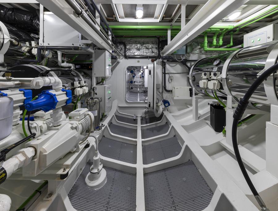 Crowbridge Engine room
